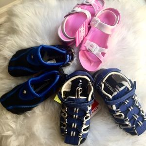 "Other - Kid's ""Climb"" Sandal Bundle, 3 Pair, Size 9/10"